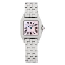 Cartier Santos Demoiselle Steel 20mm Mother of pearl Roman numerals United States of America, Florida, Surfside