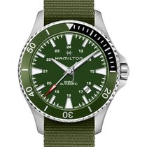 Hamilton Khaki Navy Scuba Steel 40mm Green United States of America, Massachusetts, Florence