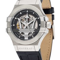 Maserati Steel 42mm Automatic R8821108038 new