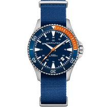 Hamilton Khaki Navy Scuba Steel 40mm Blue Arabic numerals United States of America, Massachusetts, Florence