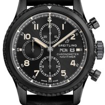 Breitling Steel Automatic Black Arabic numerals 43mm new Navitimer 8
