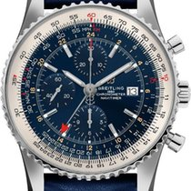 Breitling Navitimer GMT Steel 46mm Blue United States of America, California, Moorpark