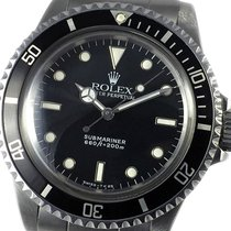 Rolex Submariner (No Date) подержанные 40mm Черный Сталь
