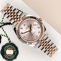 Rolex Datejust II Gold/Steel 41mm Pink