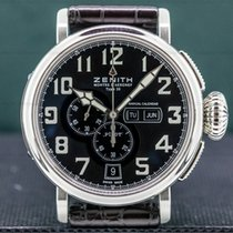Zenith Pilot Type 20 Annual Calendar Steel 48mm Black Arabic numerals United States of America, Massachusetts, Boston