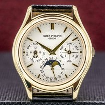 Patek Philippe Perpetual Calendar Yellow gold 36mm Arabic numerals United States of America, Massachusetts, Boston
