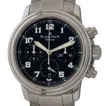 Blancpain Léman Fly-Back Steel 38mm Black Arabic numerals United States of America, Texas, Austin
