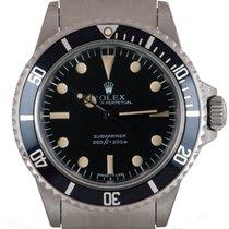 Rolex Submariner (No Date) Aço 40mm Preto