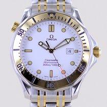 Omega Gold/Steel 41mm Quartz 23422000 pre-owned