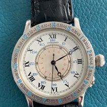 Longines Lindbergh Hour Angle Steel 40mm White Roman numerals