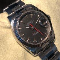 Rolex Datejust Turn-O-Graph Acciaio 36mm Nero Senza numeri Italia, Roma