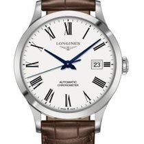 Longines Record Roman numerals United States of America, New York, Brooklyn