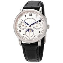 A. Lange & Söhne 1815 White gold 40mm Silver Arabic numerals United States of America, New York, New York