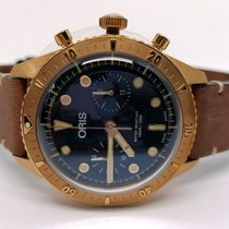 Oris Carl Brashear new 2020 Automatic Chronograph Watch with original box and original papers 01 771 7744 3185 LS Occasion