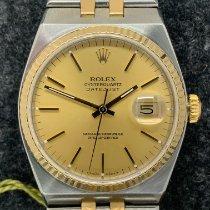 Rolex Datejust Oysterquartz Aur/Otel De culoarea şampaniei Fara cifre