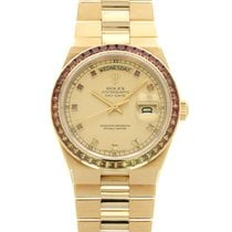 Rolex Or jaune 36.5mm Champagne