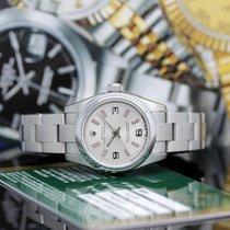 Rolex Oyster Perpetual 26 Stahl 26mm Silber Arabisch Deutschland, Hamburg