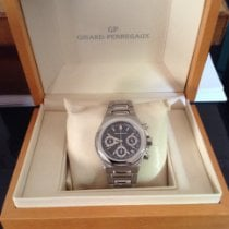 Girard Perregaux Laureato Steel 42mm Black No numerals