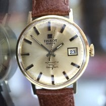 Tissot Yellow gold 35mm Automatic Tissot Vintage Automatik Seven pre-owned