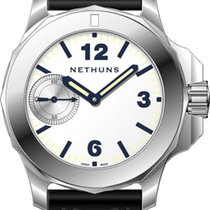 Nethuns Steel 47mm Manual winding 7.1.2.7.02 new