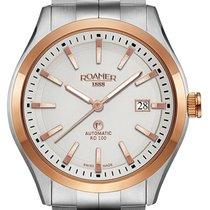 Roamer Acero 42mm RD 100 951660-49-15-90 nuevo