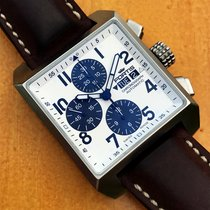 Fortis Square Acero 38mm