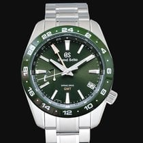 Seiko Grand Seiko Steel 40.5mm Green United States of America, California, Burlingame