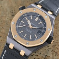 Audemars Piguet Royal Oak Offshore Diver 15709TR.OO.A005CR.01 Veldig bra Tantal 42mm Automatisk