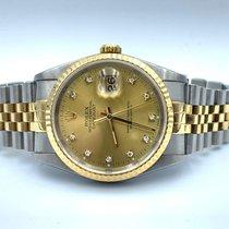 Rolex 16233 Staal 1992 Datejust 36mm tweedehands