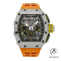 Richard Mille RM 011 White gold 42mm Grey Arabic numerals United States of America, New York, New York