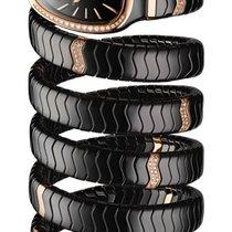 Bulgari Serpenti Ceramic 35mm Black Roman numerals United States of America, Florida, Sunny Isles Beach