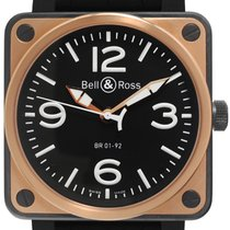 Bell & Ross BR01-92-S/R Gold/Steel 2014 BR 01-92 46mm pre-owned
