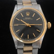 Rolex Oyster Perpetual Gold/Steel 30mm Black No numerals United States of America, New York, New York