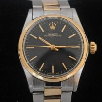 Rolex Oyster Perpetual pre-owned 30mm Black Gold/Steel