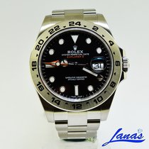 Rolex Explorer II Steel 42mm Black No numerals United States of America, New York, Massapequa