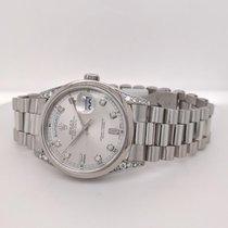 Rolex Day-Date Platinum 36mm Silver No numerals United States of America, California, SAN DIEGO