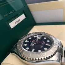 Rolex Automatic Blue 40mm pre-owned Yacht-Master 40