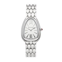 Bulgari Serpenti Steel 33mm Silver Roman numerals United States of America, Pennsylvania, Bala Cynwyd