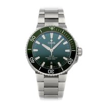 Oris Aquis Date Steel 43.5mm Green No numerals United States of America, Pennsylvania, Bala Cynwyd