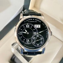 A. Lange & Söhne White gold Manual winding Black Roman numerals 41.9mm pre-owned Grand Lange 1