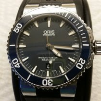 Oris Aquis Date Steel 43mm Blue No numerals United States of America, Nevada, Las Vegas