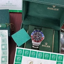 Rolex GMT-Master new 1988 Automatic Watch with original box and original papers 16750