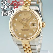 Rolex 116233G Gold/Steel Datejust 36mm pre-owned