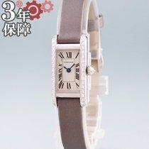 Cartier Złoto białe 14mm Kwarcowy W1540856 używany