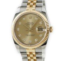 Rolex Datejust Or jaune Or