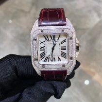 Cartier Stal 35.1mm Automatyczny Santos (submodel) nowość