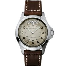 Hamilton Khaki Field King Steel 40mm Arabic numerals United States of America, Massachusetts, Florence