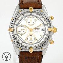 Breitling Chronomat Acero y oro 40mm Blanco
