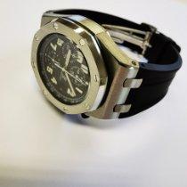 Audemars Piguet Royal Oak Offshore Chronograph Stahl Schwarz Deutschland, Rebstein