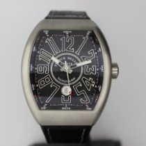 Franck Muller Vanguard Steel 44mm Grey Arabic numerals